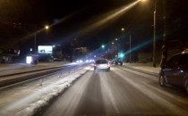 Główna arteria Gdyni, 4 godz. po opadach,...