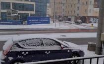 W Gdyni znowu śnieży. Czy tym razem nie...