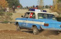 Pościg policyjny na torze off-road'owym