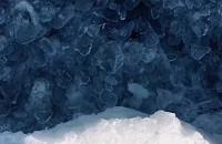 Lód nad morzem