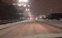 Trudne warunki drogowe na Grunwaldzkiej w...
