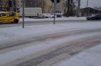 Po 9 w Gdyni dawno bagno na drogach
