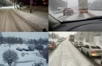 Wtorkowy śnieżny poranek na filmach czytelników