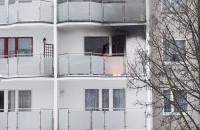 Pożar mieszkania na Suchaninie
