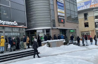 Kolejka do Dobrej Pączkarni w Gdyni