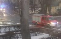 Pożar w Sopocie na ul. Grunwaldzkiej 41