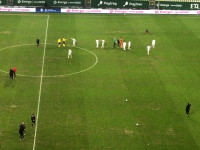 Lechia Gdańsk - Górnik Zabrze 2:0. Radość po meczu
