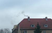 Nieprzyjemny dym na Przyjemnej w Gdańsku