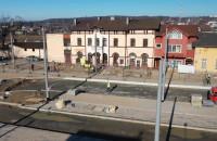 Plac Dworcowy w Chyloni. Niedługo koniec prac