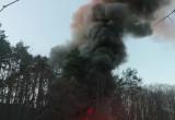 Pożar autobusu przy szpitalu ...