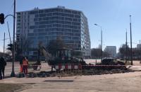 Zwężenie i utrudnienia na Obrońców Wybrzeża w Gdańsku