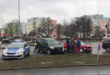 Skutki wypadku na Chłopskiej i Jagiellońskiej