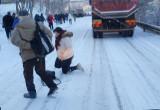 Gdynia ul. Czernickiego zablokowana