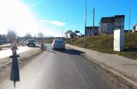 Nowa Jabłoniowa - przejazd rezerwą terenową