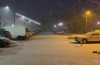 Poranny atak zimy na Witominie
