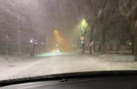 Białe drogi w Gdyni