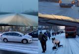 Poranne utrudnienia na drogach w Gdyni