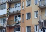 Akcja strażaków na Chełmie
