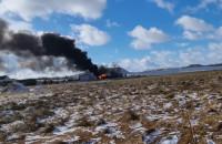 Pożar budynku gospodarczego w Chwaszczynie