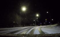 Totalny lód na drogach na południu Gdańska