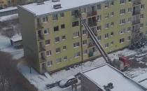 Wejście służb do mieszkania w Gdyni