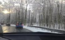 Śnieg na Sopockiej
