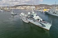 ORP Błyskawica płynie na remont do stoczni