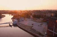 Wschód słońca w Gdańsku