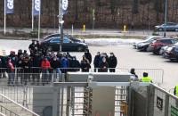 Arka Gdynia. Doping spod stadionu