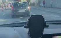 Płonące auto w Rumi Janowie na trasie do...