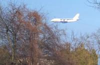 Tak wyglądało lądowanie Antonova na gdyńskim lotnisku