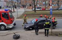 Usuwanie skutków wypadku we Wrzeszczu