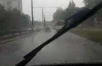 Wiosenny deszcz w Gdyni
