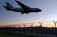 Lądowanie Antonova w Babich Dołach