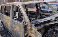 W Brzeźnie spłonęły cztery auta