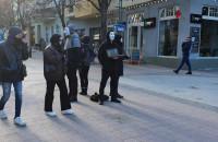 Akcja na rzecz praw zwierząt na Monciaku
