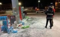 Oględziny na stacji benzynowej