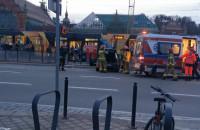 Auto uderzyło w przystanek - Gdańsk, ...