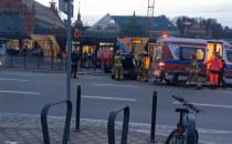 Auto uderzyło w przystanek - Gdańsk,...