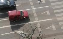 Żongler na skrzyżowaniu w Gdyni