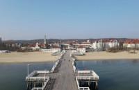 Najdłuższy drewniany pomost w Europie - Molo w Sopocie