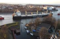 Statek PŻM, Wicko wypływa z portu