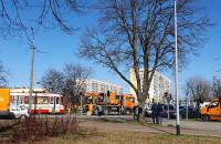 Wykolejenie tramwaju na Gospody