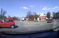 Niebezpieczne zachowanie kierowcy na Trakcie św. Wojciecha