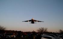 Antonov AN-124 Rusłan lądowanie w Gdyni