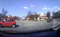 Niebezpieczne zachowanie kierowcy na...