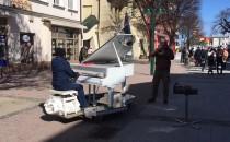 Uliczny koncert na Monte Cassino w Sopocie