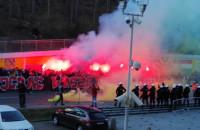 Race przed stadionem w Gdyni