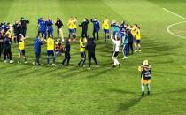Radość Arki Gdynia po meczu