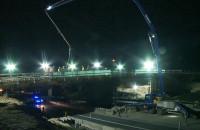 Trasa Kaszubska. Betonowanie wiaduktu wzdłuż Lipowej